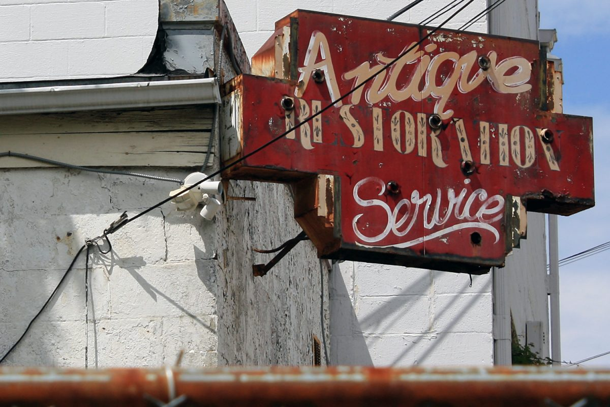 antique restoration service