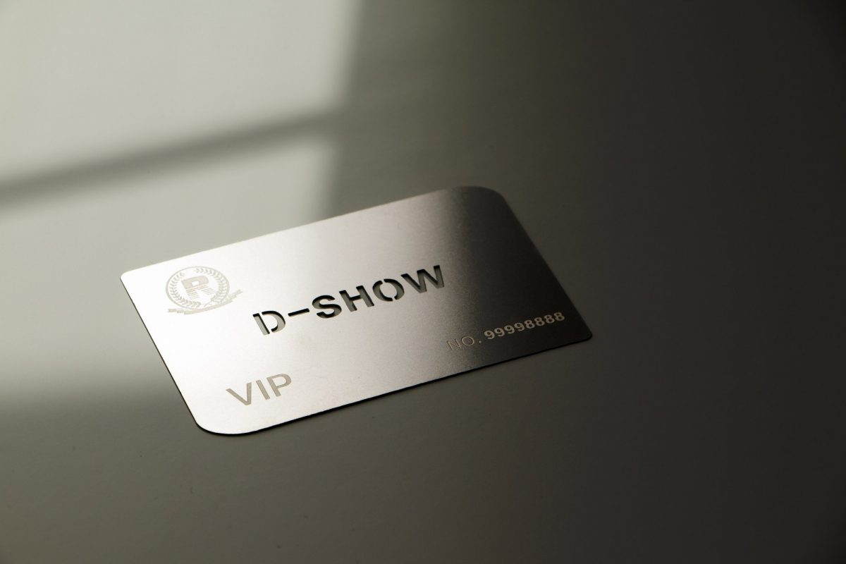 metal business cards vistaprint