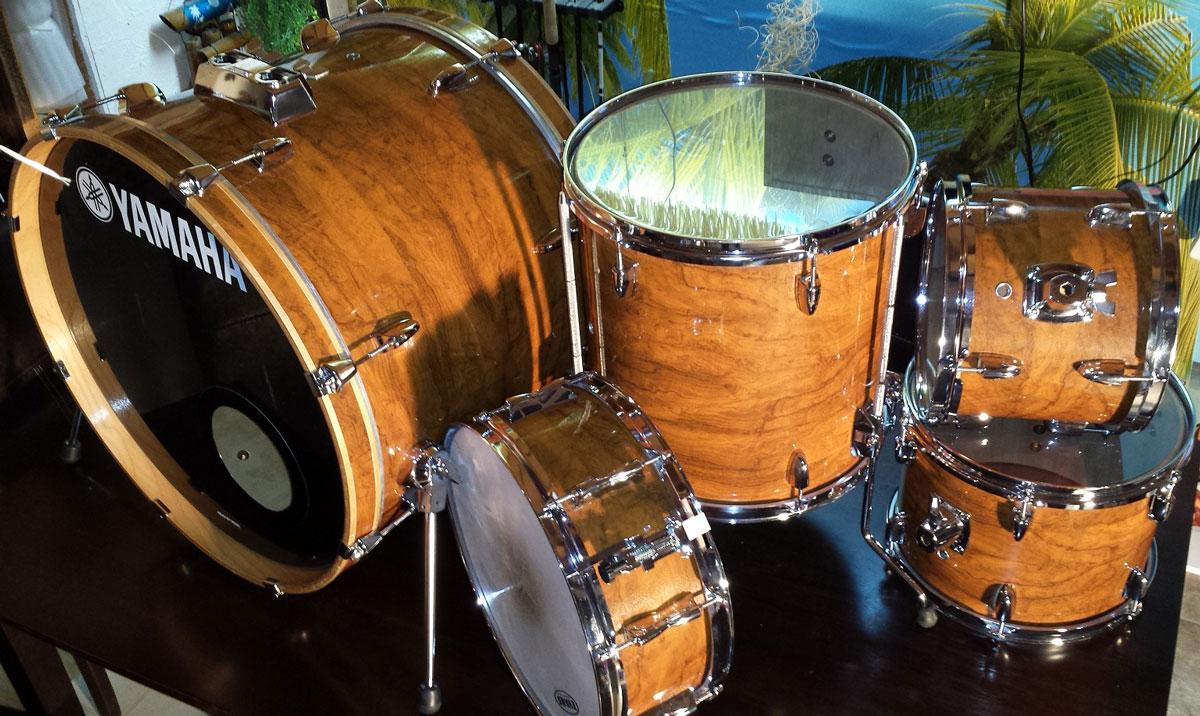 how to make custom drum wraps